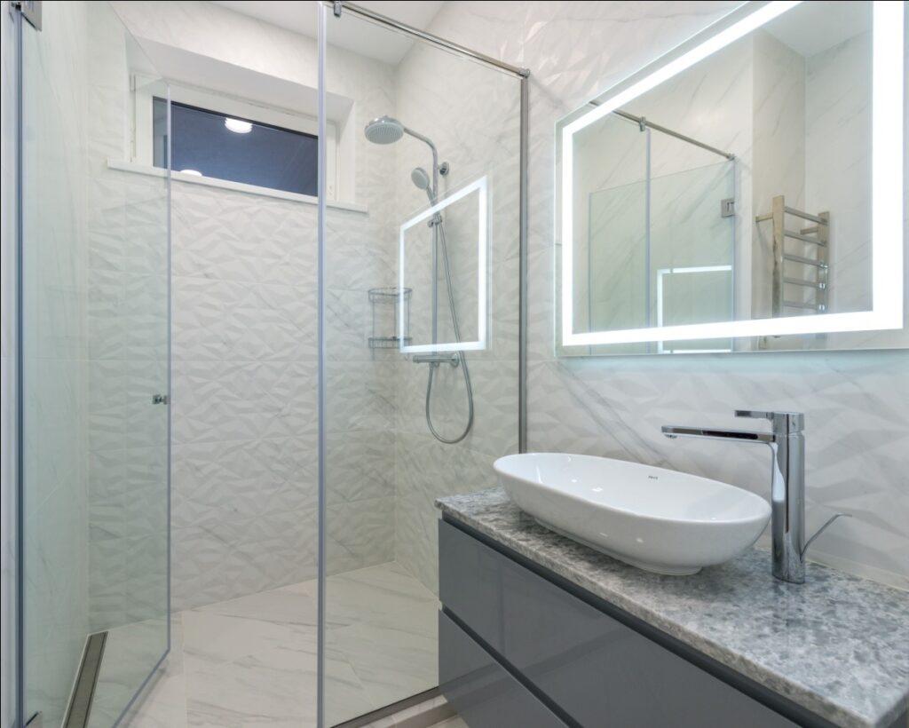 Install a Glass Shower Cabin